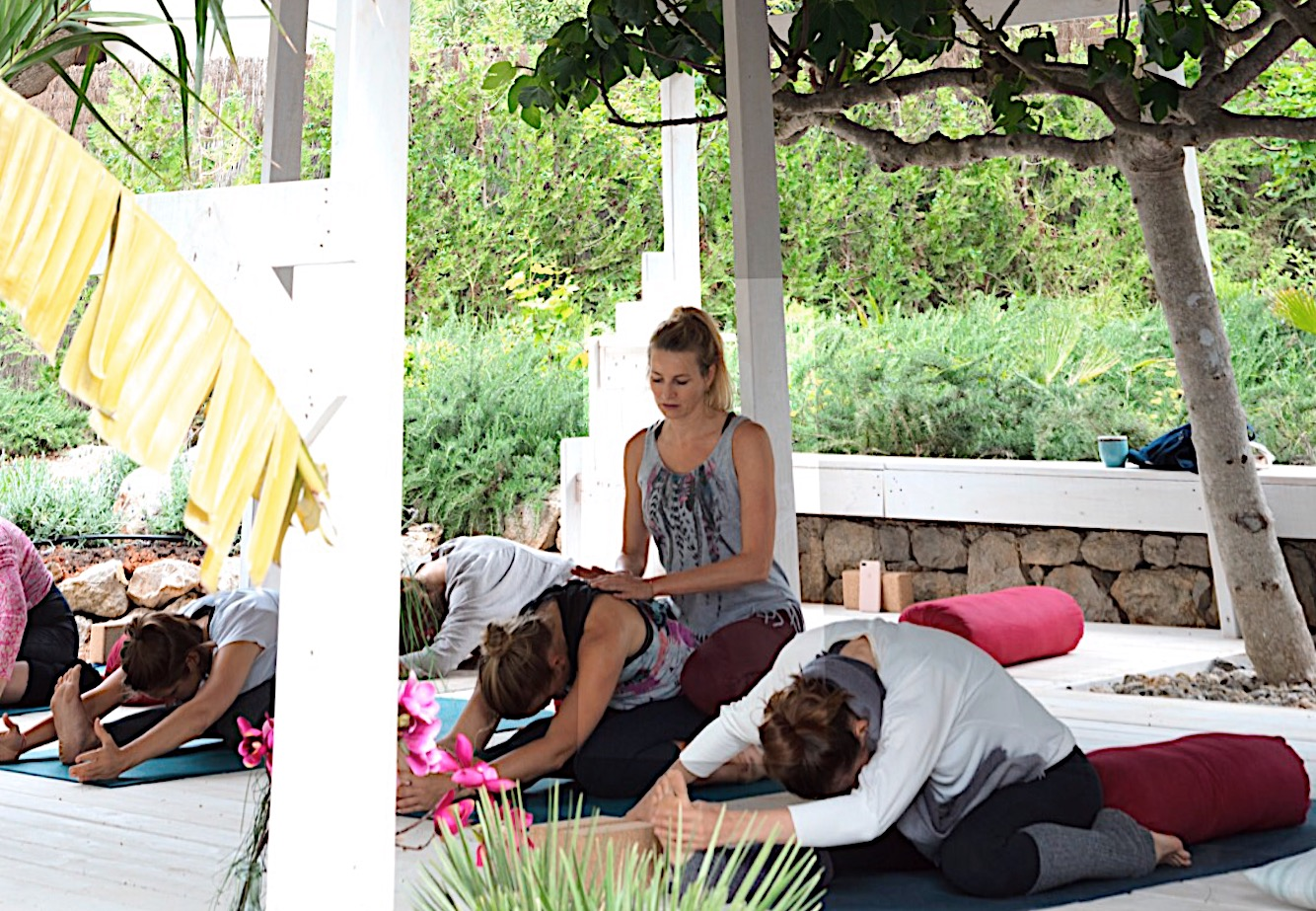 shine yoga retreat in Ibiza 2019